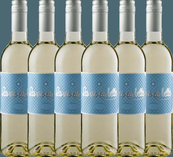 6er Vorteils-Weinpaket - La vie est belle blanc 2019 - La vie est belle