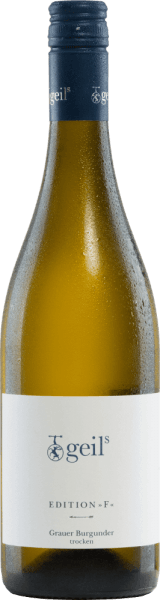 Edition F Grauer Burgunder trocken 2020 - Sekt- und Weingut Geils