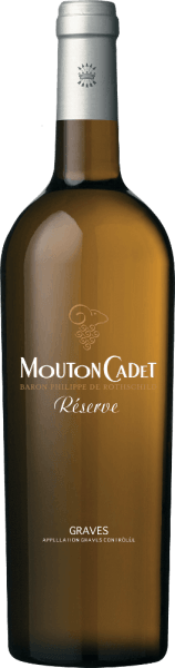 Mouton Cadet Réserve Graves Blanc AOC 2019 - Baron Philippe de Rothschild