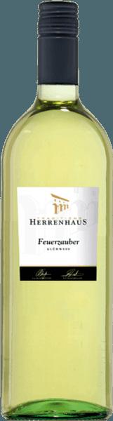 Weißer Winzer-Glühwein Herrenhaus Feuerzauber 1,0 l - Lergenmüller