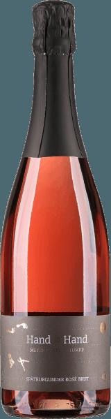 Hand in Hand Spätburgunder Rosé Sekt brut 2019 - Meyer-Näkel & Klumpp