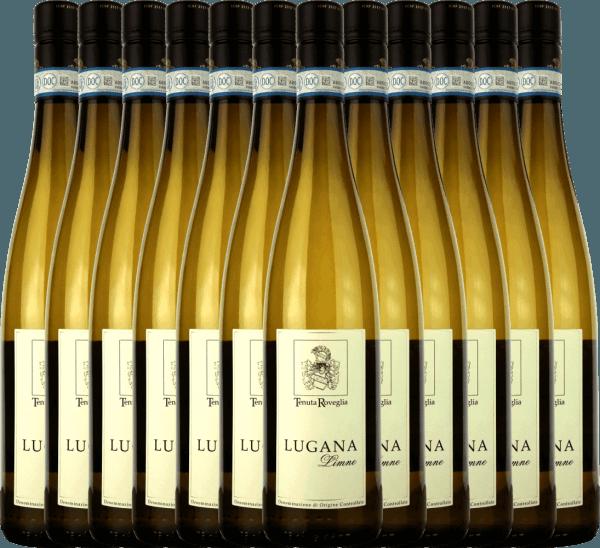12er Vorteils-Weinpaket - Limne Lugana DOC 2019 - Tenuta Roveglia