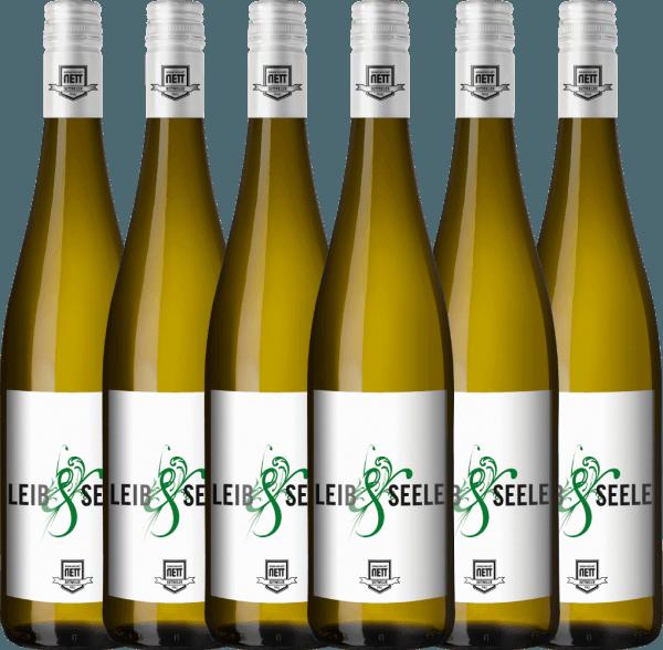 6er Vorteils-Weinpaket - Leib & Seele Cuvée feinherb 2019 - Bergdolt-Reif & Nett