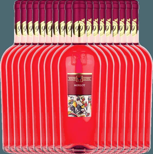 18er Vorteils-Weinpaket - Merlot Rosato 2020 - Tenuta Ulisse
