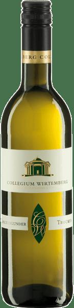 Ce vin blanc sec, jaune paille, appartient à l'Edition Wirtemberg, qui contient des sélections complètes, denses et substantielles. Le Pinot Gris QbA dry Edition Wirtemberg du Collegium Wirtemberg déploie un bouquet exotique, qui lui confère puissance et élégance. Servez-le avec des antipasti, des entrées, des Maultaschen ou du thon.