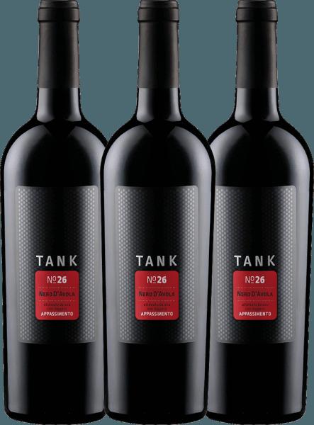 3er Vorteils-Weinpaket - TANK No 26 Nero d'Avola Appassimento IGT 2020 - Cantine Minini
