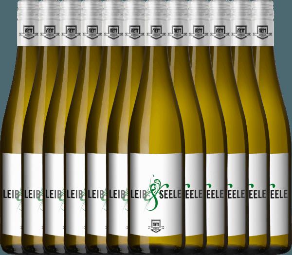 12er Vorteils-Weinpaket - Leib & Seele Cuvée feinherb 2019 - Bergdolt-Reif & Nett