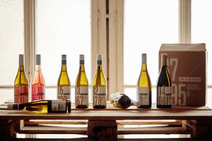 Die Flaschen mit ihren markanten Etiketten