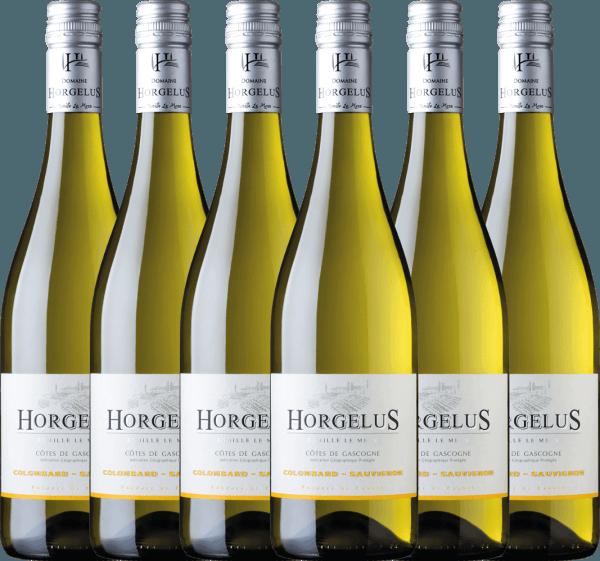 6er Vorteils-Weinpaket - Horgelus Blanc 2020 - Domaine Horgelus
