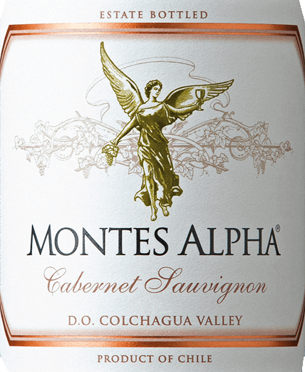 Le Montes Alpha Cabernet Sauvignon est une merveilleuse cuvée de vin rouge composée de Cabernet Sauvignon (90%) et de Merlot (10%). Dans le verre, ce vin rouge chilien se délecte d'une forte couleur rouge rubis.Le bouquet élégant, complexe et intense déploie des arômes puissants de violettes et de fruits rouges - notamment la cerise de cœur - ainsi que des notes de mûre, de chocolat et de poivre noir avec une pointe de boîte à cigare. Des notes de vanille, de caramel et de café, issues de la maturation du chêne, complètent les arômes du nez. En bouche, ce vin rouge du Chili, riche en finesse et excellent, convainc par un merveilleux équilibre, une grande structure, un corps moyen ainsi que des tanins fermes et ronds. Ce vin rouge se termine par une finale longue et persistante. Vinification du Cabernet Sauvignon Montes Alpha Les raisins Cabernet Sauvignon et Merlot sont récoltés à la main à maturité optimale. Après l'éraflage complet, les raisins sont écrasés et fermentés séparément. La fermentation alcoolique est suivie d'une période de macération prolongée. Cela donne à ce vin rouge ses arômes puissants, sa couleur intense et ses merveilleux tannins. Le vieillissement de ce vin rouge a lieu pendant 12 mois dans des barriques en chêne français. Ce n'est qu'à la mise en bouteille que le cabernet sauvignon Montes Alpha est harmonieusement complété par les 10 % de merlot. Recommandation alimentaire pour le Cabernet Sauvignon Montes Alpha Ce vin rouge sec du Chili est le compagnon idéal des pâtes à la sauce bolognaise, de la viande rouge, des côtes de veau rôties à la sauce Cabernet, des côtes de porc, du bœuf mongol et du chocolat noir.