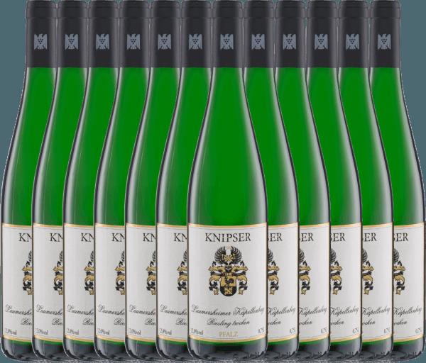 12er Vorteils-Weinpaket - Kapellchen Riesling 2020 - Knipser